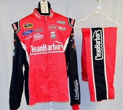 Greg Biffle Clean Harbors Simpson SFI-5 NASCAR Racing Suit #5123 46/40/36