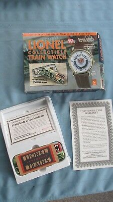 Vintage Lionel Train Watch-New In Box-Real Train Sounds-Licensed Edition