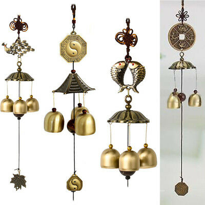 Various Metal Wind Chime Mobile Windchime Lucky Church Bell Garden Hanging Decor