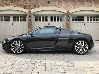 2010 Audi R8  2010 Audi R8 V10 5.2L Coupe 6 Speed with only 10k miles.  All original!