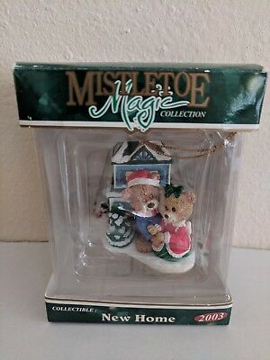 Brand New in Box Mistletoe Magic New Home 2003 Ornament Collectible