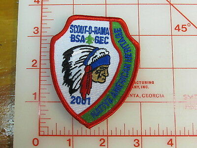 2001 Golden Empire Council Scout-o-rama patch (rY)