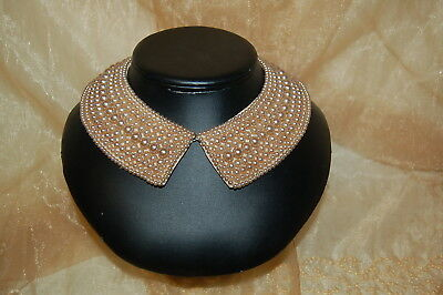 Vintage Beaded Collar Made In Japan