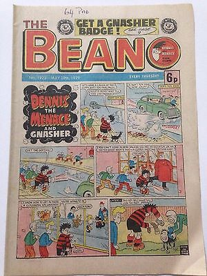 DC Thompson THE BEANO Comic. Issue 1922 May 19th 1979 **Free UK Postage**