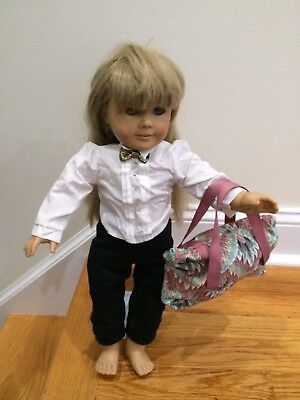 American Girl Doll Bag etc. Doll Clothes Accessory Fits 18 inch dolls. Set of 2