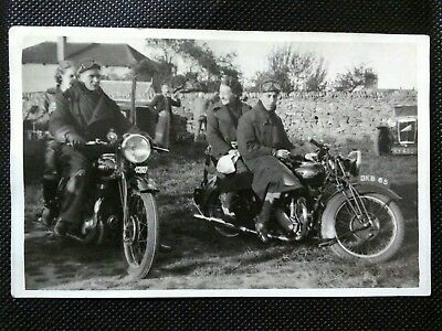 RUDGE SPECIAL MOTORCYCLE MOTORBIKE c1939 JEROME SOCIAL HISTORY POSTCARD