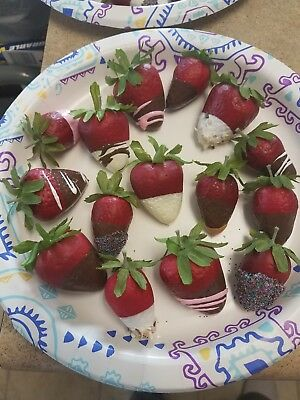 15 Piece Set of Fake/Artificial/Pretend/Life-like Strawberries...FREE SHIPPING!