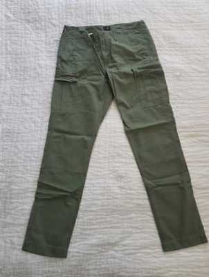 2d1d5fa588 NEW MEN'S 34x34 J CREW 770 STRAIGHT FIT RIPSTOP CARGO PANTS IN BRIGADE OLIVE