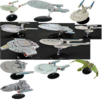 Star Trek Eaglemoss Oversized Edition Die-Cast Ship Collection-Your Choice of 10