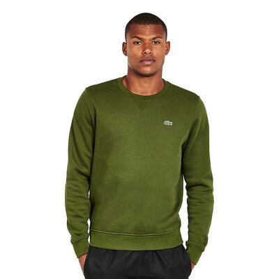 Lacoste - Brushed Fleece Sweater Boscage Pullover Rundhals