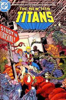 New Teen Titans (1984 series) #10 in Very Fine + condition. DC comics [*z8]