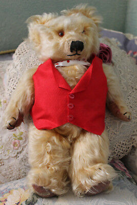 Vintage Merrythought Teddy Bear Made in England 15""