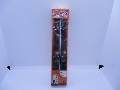 "Vtg 10"" Witch Halloween Candles Adlr Inc"