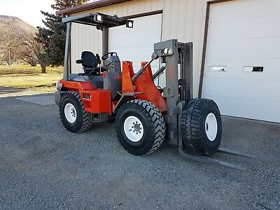Kubota R520 Wheel loader Mine Master Forklift