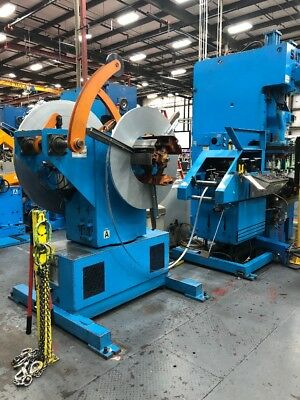 Orii Corporation Servo Straightener Feeder With Dual Coil Feeder 1500Kgf