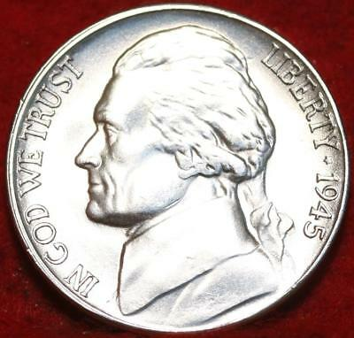 Uncirculated 1945-S San Francisco Mint Silver Jefferson Nickel