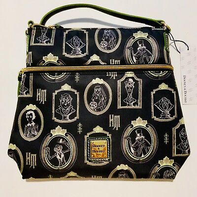 Disney Dooney & Bourke Haunted Mansion Crossbody Bag Letter Carrier *PLACEMENT*
