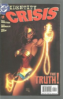 Identity Crisis  The Truth  #4  Justice League Of America   Nm  Dc Comics   2005