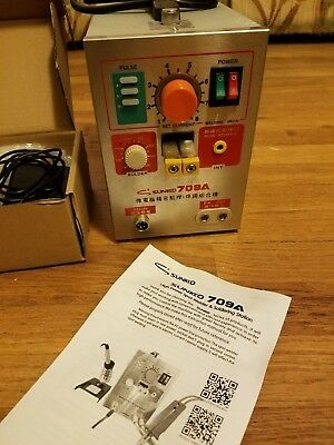 Sunkko 709A Spot Welder and Soldering Station