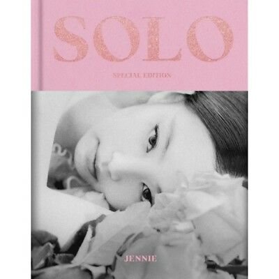 BlackPink Jennie-[Solo] Special 128p PhotoBook+POSTER+Sticker+Post+Card+Gift
