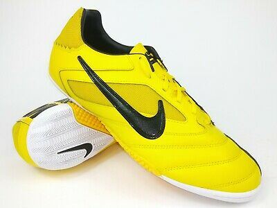 bc172f25a0c Nike Mens Rare Nike5 Elastico Pro 415121-701 Yellow Black Indoor Shoes Size  10.5