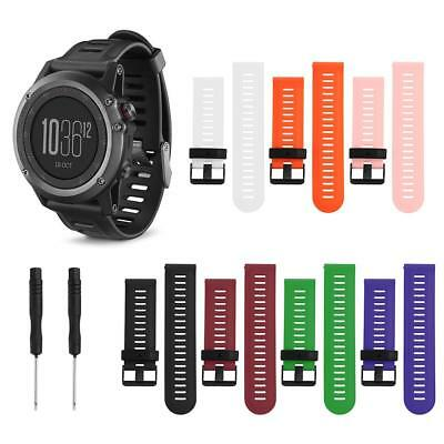 Silicone Wrist Strap Bracelet Watch Band Belts Replacement for Garmin Fenix3/5