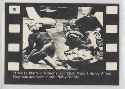 1963 NMMM #10 Marilyn Monroe Betty Grable Non-Sports Card 0w6