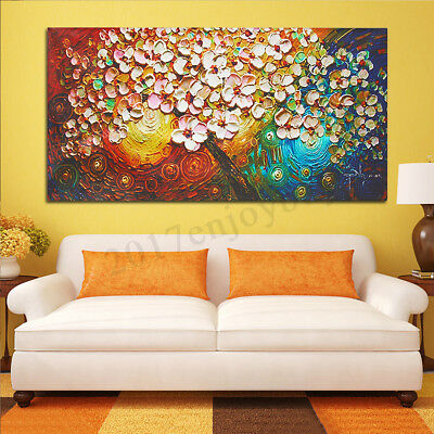 120x60cm Flower Tree Abstract Canvas Print Painting Picture Art Home Wall