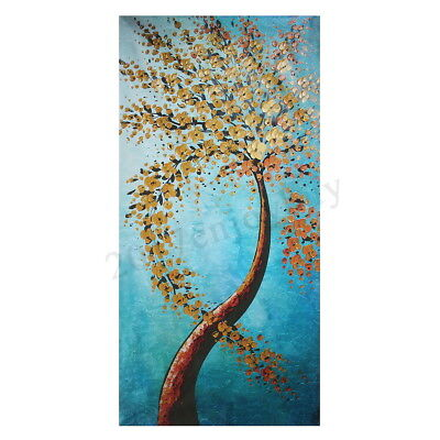 Modern Abstract Art Oil Painting Canvas Print Picture Tree Home Decor