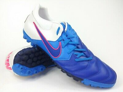 Nike Mens Rare Nike5 Bomba TF PRO 415119-144 Blue White Soccer Shoes Size 11.5