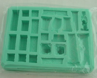 Hirst Arts #99 Egyptian Fountain Accessory Fantasy Scenery Silicone Mold HIR099
