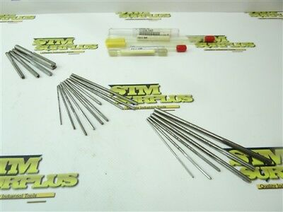 "Lot Of 19 Hss Assorted Length Reamers 1/16"" To 13/32"" Yankee L&i"