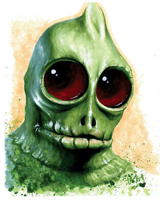 SLEESTAK from LAND OF THE LOST Fine Art Print by Billy Tackett