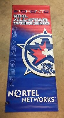 2000 NHL All-Star - Toronto - Street Banner - Double Sided