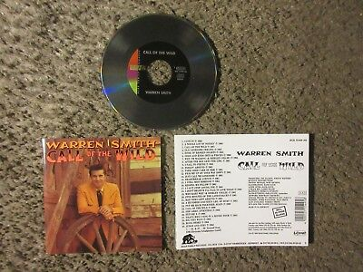 "Warren Smith (Rockabilly) ""call Of The Wild"" 1990 Bear Family 30 Trx.nm Oop Cd!"