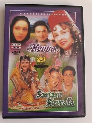 Henna Sanam Bewafa Hindi Movie Bollywood Film Dvd 5 00