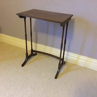 Small Edwardian Inlaid Table