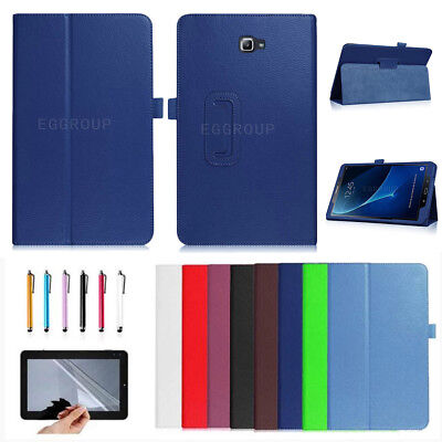 For Samsung Galaxy Tab A A6 10.1 SM-T580 T585 (2016) Flip Stand Smart Case Cover
