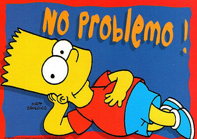 Image result for no problemo bart simpson