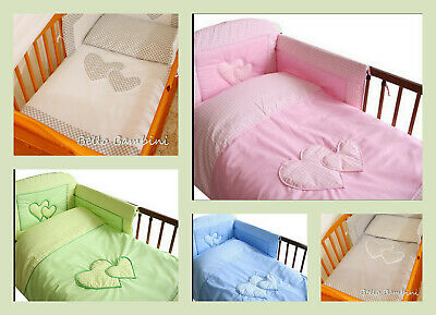 Lovely 2 pcs Nursery Baby  BEDDING SET/PILLOWCASE/DUVET COVER 4 cot/cot bed