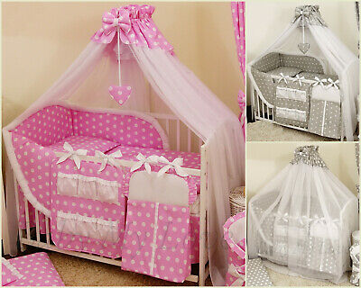 STUNNING /BABY/COT/COT BED BIG CANOPY DRAPE/585cm wide + HOLDER/ROD S A L E!!!