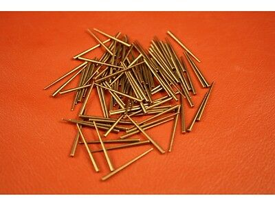 Brass Tapered Clock pins Pack of 100 for repair