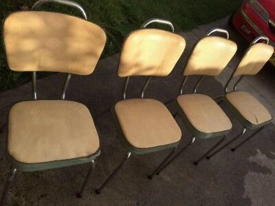Retro 1950's namco dining chairs