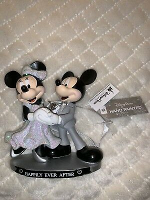 NEW 2018 Disney Parks Mickey & Minnie Mouse Happily Ever After Wedding Ornament