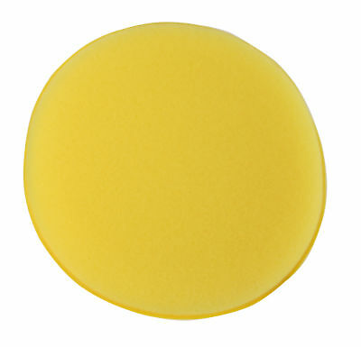 Kent Car Care Q9256 5 Yellow Sponge Polish Applicator Pad