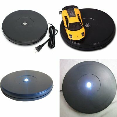 25CM 10KG 3D Heavy Duty 360° Rotating LED Display Stand Electronic Turntable NEW