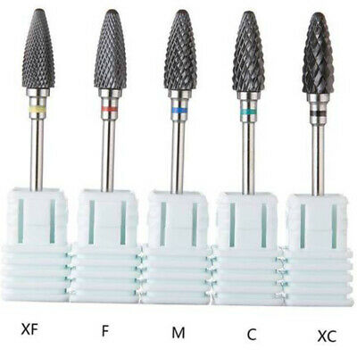 Ceramic Nail Art Grinding Drill Bits Bit Electric Manicure Mill Tip Tool