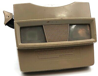 Vintage View-master Light Brown **RARE**