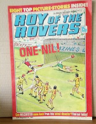 Roy of the Rovers Comic in very good condition dated 21st March 1981