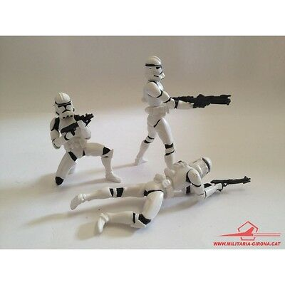 Star Wars Action Figure. Army Of The Republic. Clone Trooper Army. Hasbro 2003